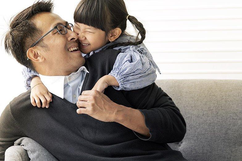 Liens père-enfant plus forts